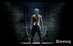 Chained Daesung by MikaAlaMode