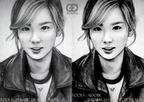 taeyeon dangerous boy 2 by anosa228