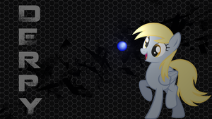 Derpy Wallpaper by BBronYY