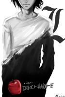 L Lawliet. by wiccimm