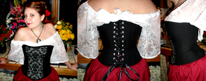 Corset - First Try by Ceslyn