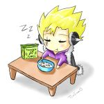 Chibi Laxus-Breakfast Time by TimTam13