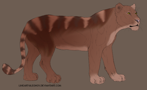Feline adoptable for 10 points by May-Ly
