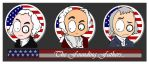 MsGothje meet Founding Fathers by MsGothje