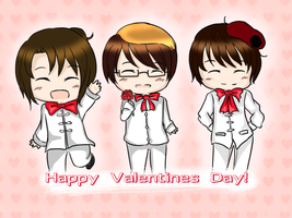 Happy Valentines Day! [With Game] by angiecake66