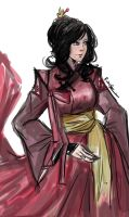 LOK: Royal Asami by spontaruu