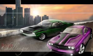 Rise of the Dodge Challenger by supercrazzy
