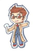 Dr Who Chibi by samyo123