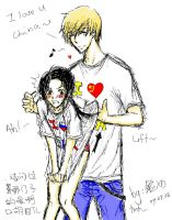 APH-russia x china i love u by minghii