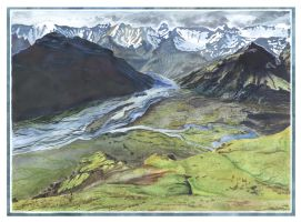 Valley in Norsca by MIHO24