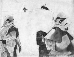 Stormtroopers by RichardBurgess