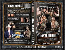 Royal Rumble DVD Cover by Hiro-Gfx