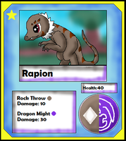 Rapion Card (Adopt) by Dianamond