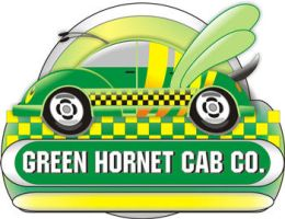 Green hornet Cab Logo by irfanrahmed