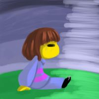 Frisk painting by ReneesDetermination
