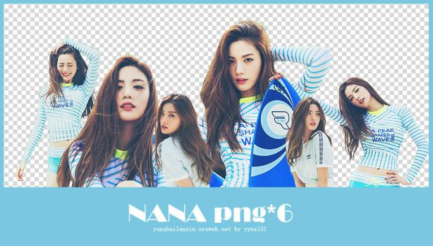 NANA (afterschool) png pack #02 by yynx151