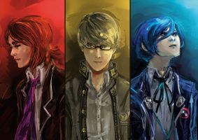 The Colors of Persona by kaifuu