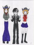 Death the Kid, Patty and Liz by HumbertandKlaus