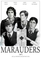 Marauders - Harry Potter fanart by Lasthielli