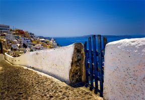 The gate from Fira by enikOne