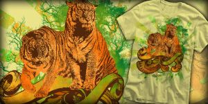 Tiger Safari at RIPT Apparel by freeagent08
