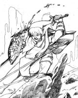 Link: Mad Scramble - pencils by Daystorm