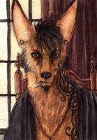 Coyox Detailed Portrait Badge by CannedTalent