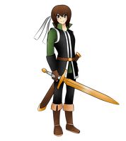 Josh OC Myrmidon (REAL PERSON) by kenzero64