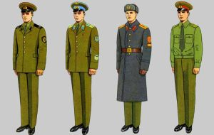 Soviet Army Uniforms 47 by Peterhoff3
