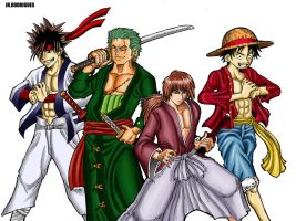 One rurouni piece kenshin xD by Junior-Rodrigues