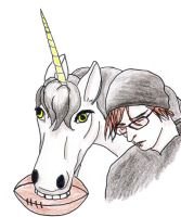 Unicorn, Football, and Mikey Way by Listy