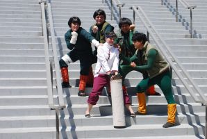 Naruto Gathering: Team Guy, part 3 by miss-a-r-t