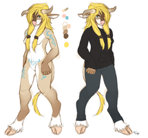 Jasiriae reference Sheet by gr-ay