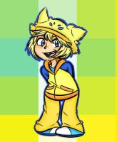 Pokemon Gijinka Request: Joltik by Stungun44