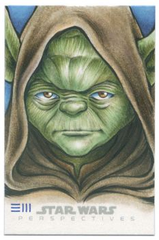 Yoda - Star Wars Perspectives Artist Proof by Erik-Maell