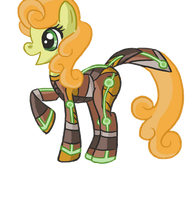 Carrot Top Space suit pony by raptor007