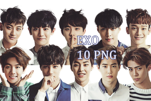 EXO PNG Pack {Season Greetings 2015} by kamjong-kai
