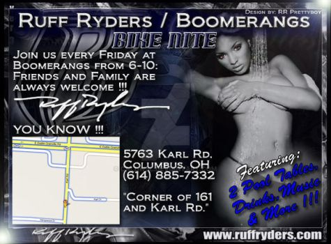 Ruff Ryders Columbus flyer. by CALDW3L