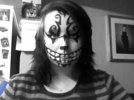 Cheshire Cat makeup by beauty-0o