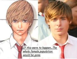 Light Yagami Look Alike by xxxIggyxFangxxx