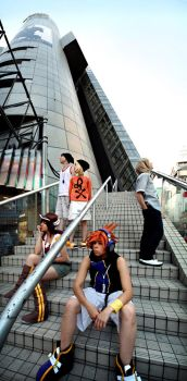 Cosplay: 104 Building group by Risachantag