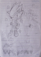 Classic Super Sonic-WIP by Logan23423