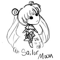 Second Moon Doodle by GangstaCakes
