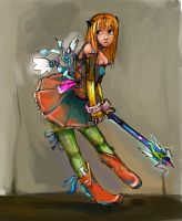 MAGIC GIRL_____color. by chlo-bou