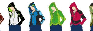 Ben 10 Hoodies by tophphan