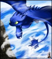 Soaring Through the Clouds by Manasurge