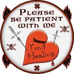 I'm Healing Button by raven-haven-creation