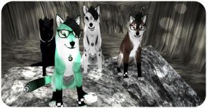 Bluetooth, Minty, Oreo, and Neo by Kasi-Shadowfall