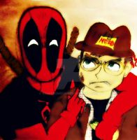 what if Linkara met Deadpool?! by Emmybomber