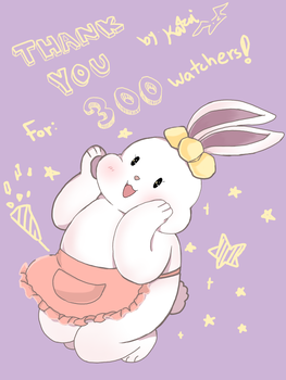 Thank you for 300 watchers by Choulaphone